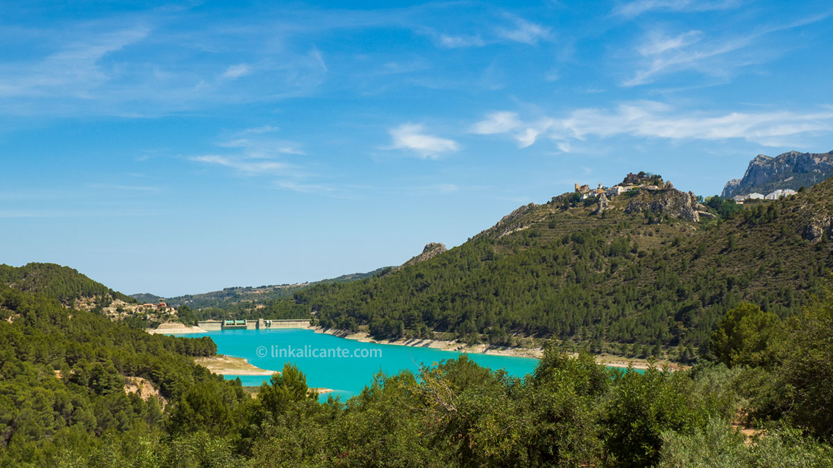 Guadalest Reservoir Hiking Trail